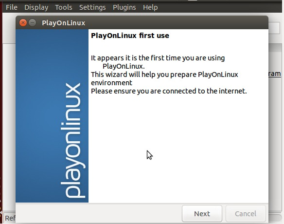 first-time-playonlinux
