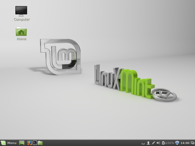 Linuxmint-Desktop-Screen