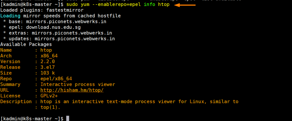 epel-package-info-centos7