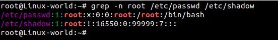grep-n-root