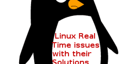 linux-real-time-issues