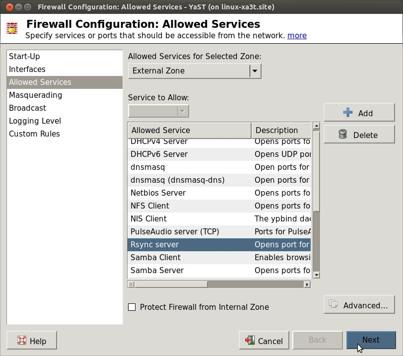 Firewall-Configuration-Allowed-Services-YaST