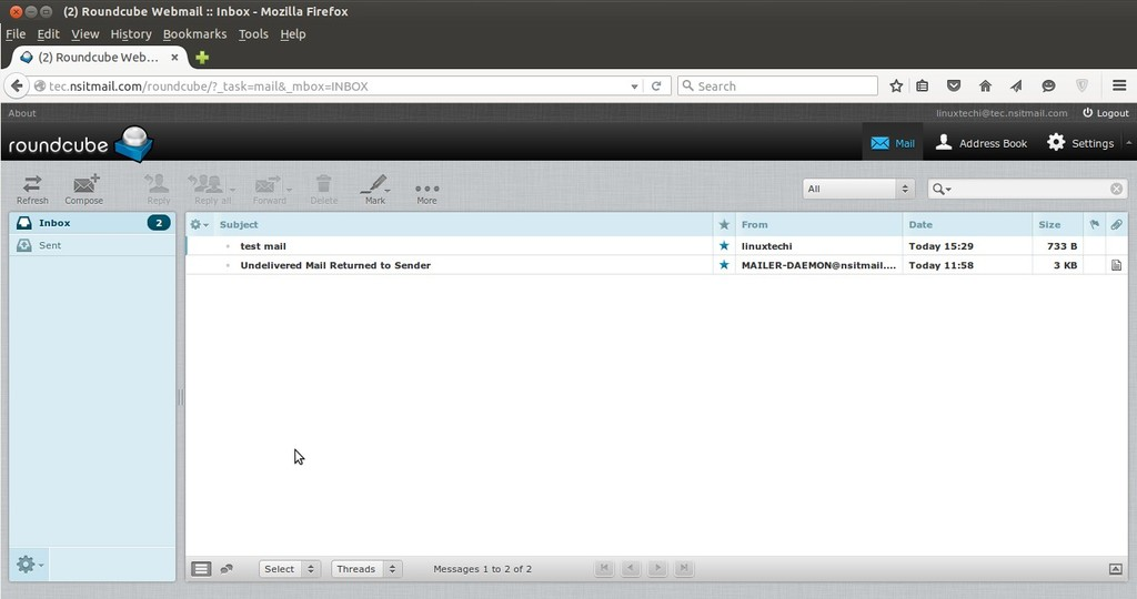 Install latest version of Roundcube (Webmail) on CentOS 7