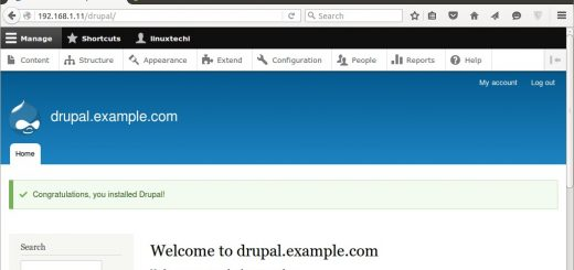 Drupal-installation-completed