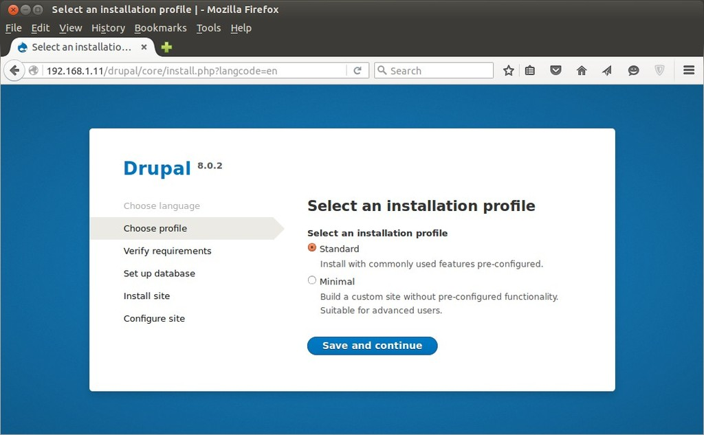 Select-installation-profile-drupal