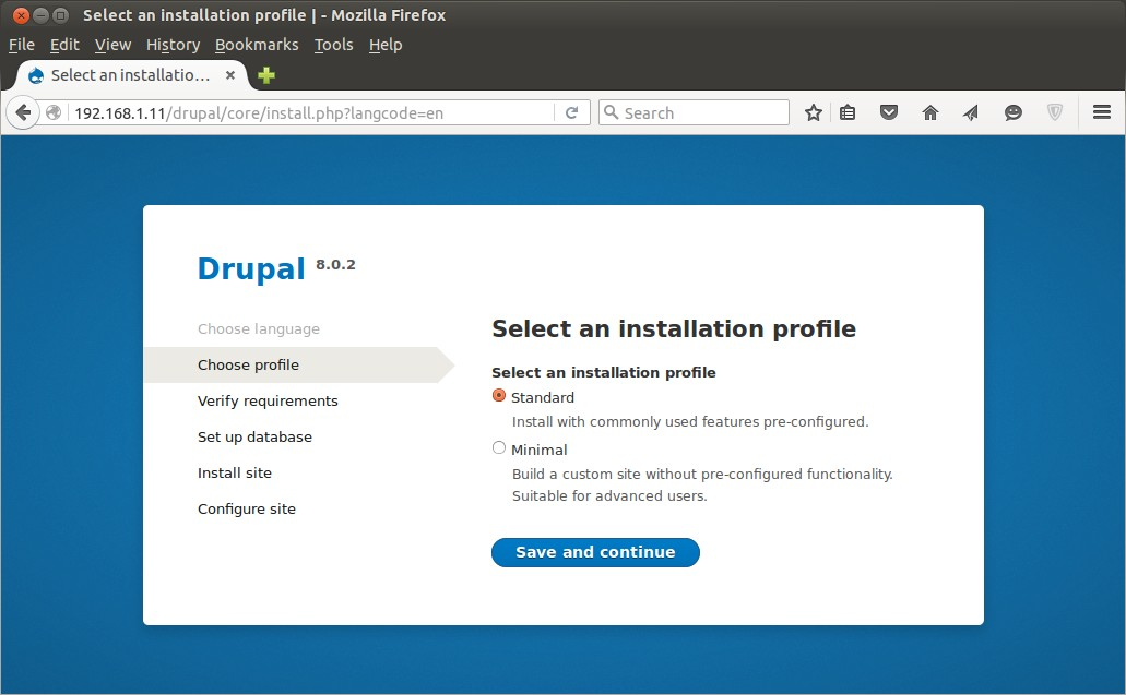 php 7 installe linux sur ipad