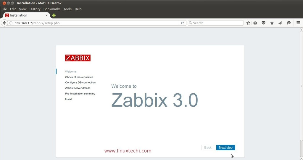 Zabbix-Server-Installation