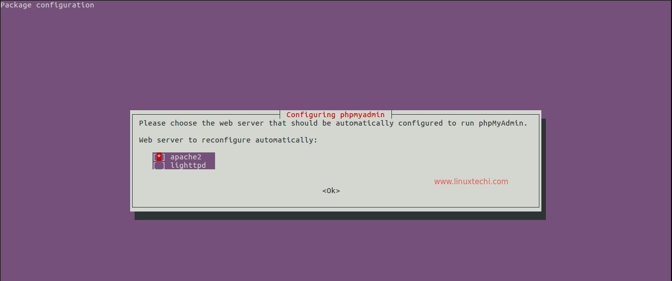 Web-Server-for-phpMyAdmin-Ubuntu-Server-16-04
