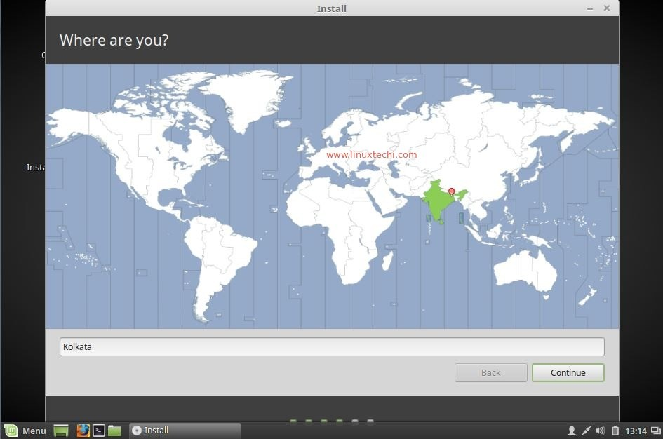 select-location-linuxmint18-installation