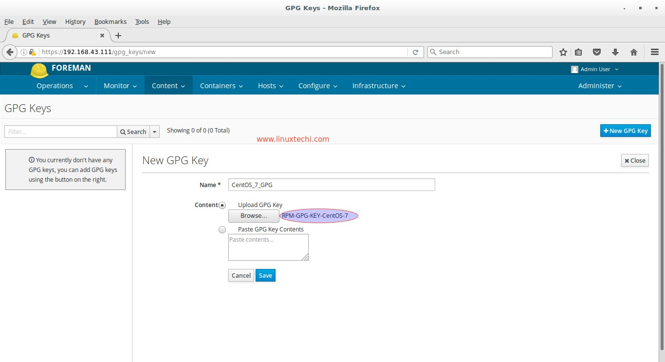 Katello - Download Yum Repositories and Register clients for patching
