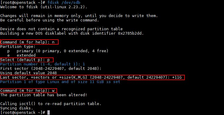 create-new-partition-fdisk-command