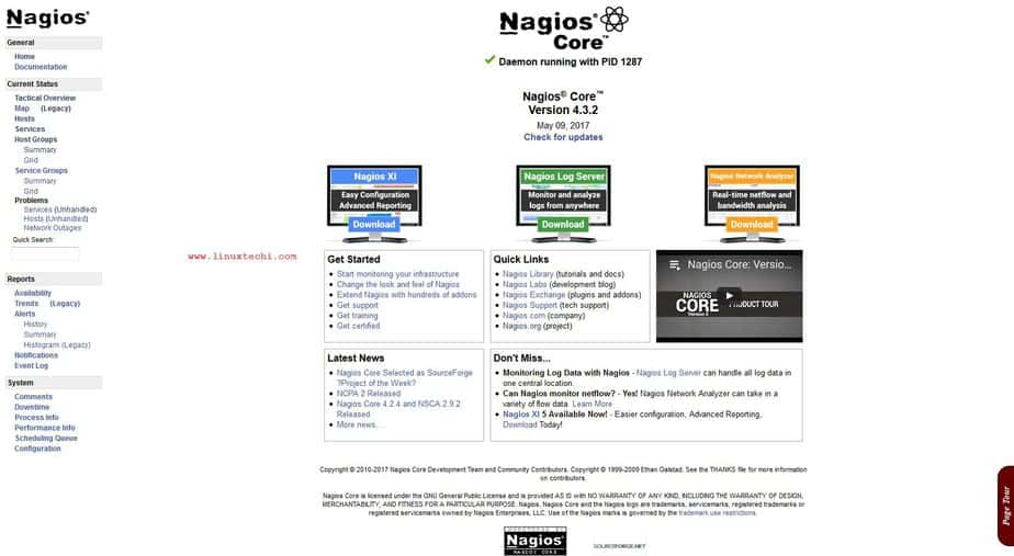 How to Install and Configure Nagios Core 4 on CentOS 7 / RHEL 7
