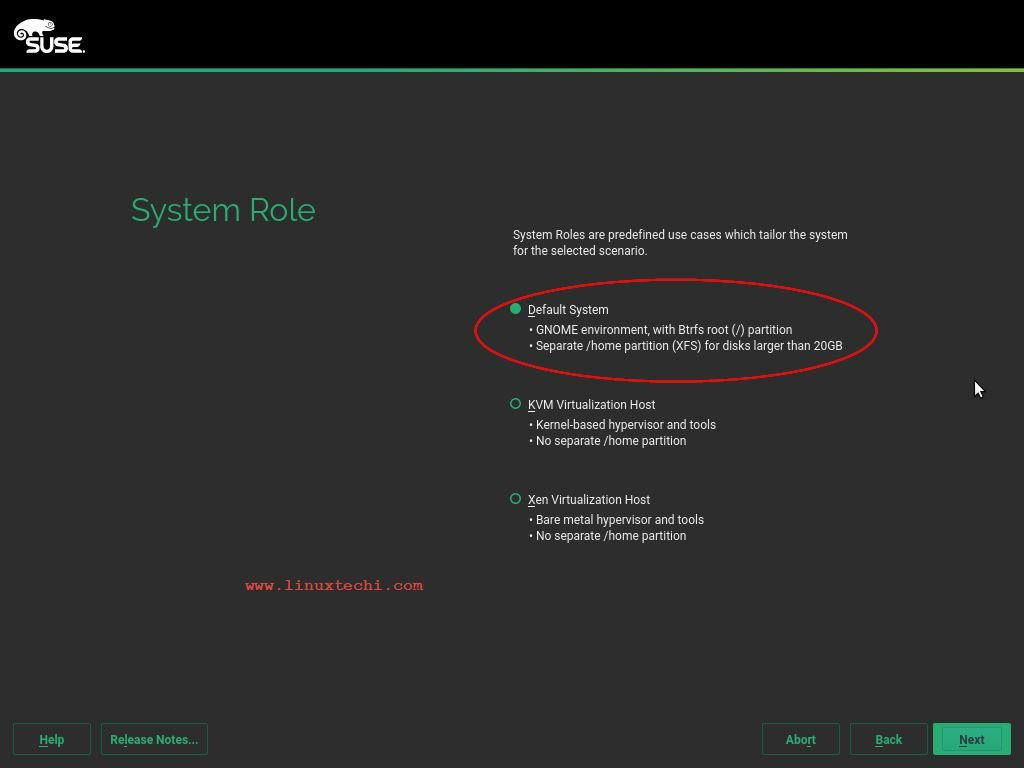 System-Role-SLES12-Installation