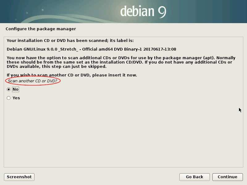 Scan-CD-DVD-Debian9-Installation