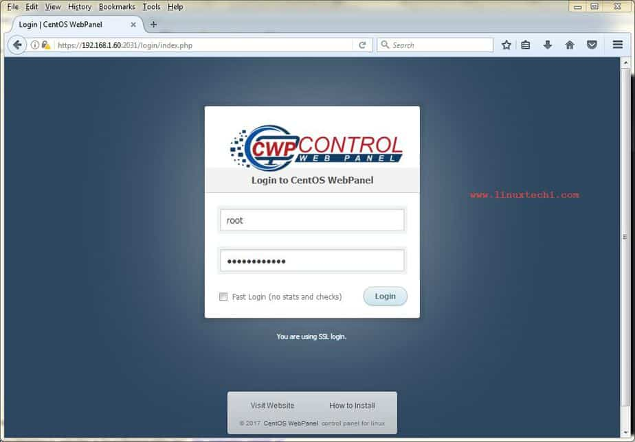 How to Install and Configure CWP(CentOS Web Panel) on CentOS 7
