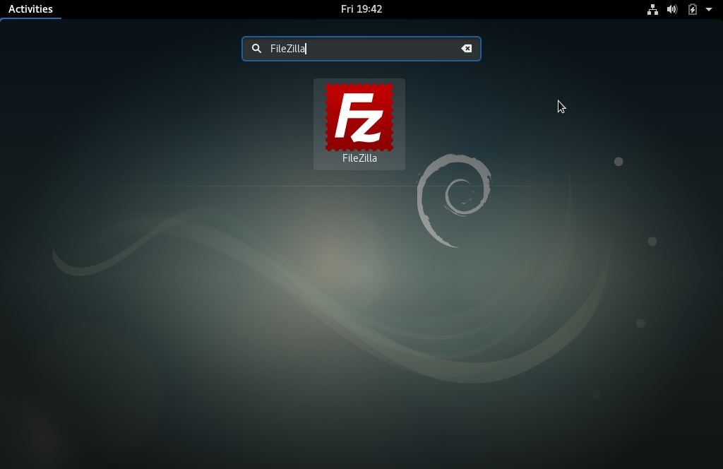 Access-FileZilla-Debian9