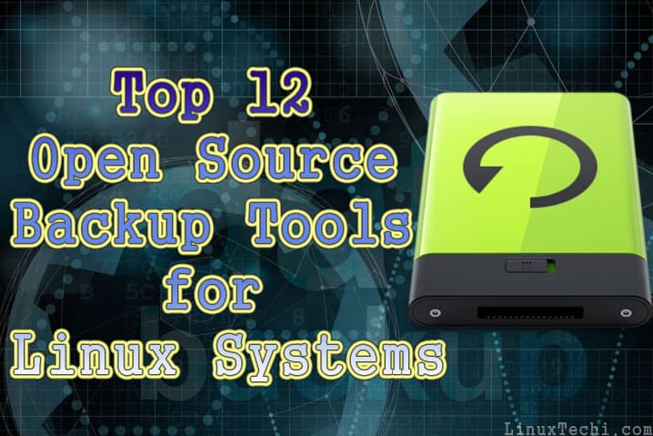 Top-12-OpenSource-Backup-Tools