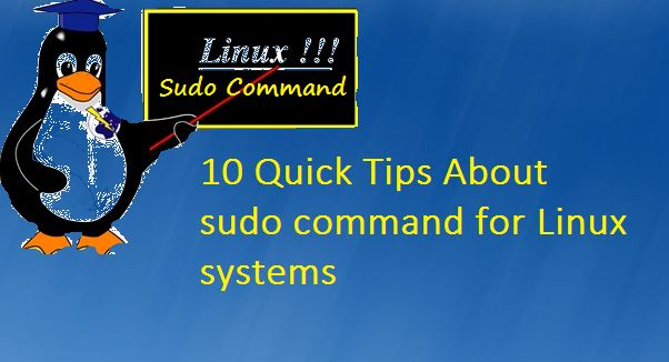 Linux-sudo-command-tips