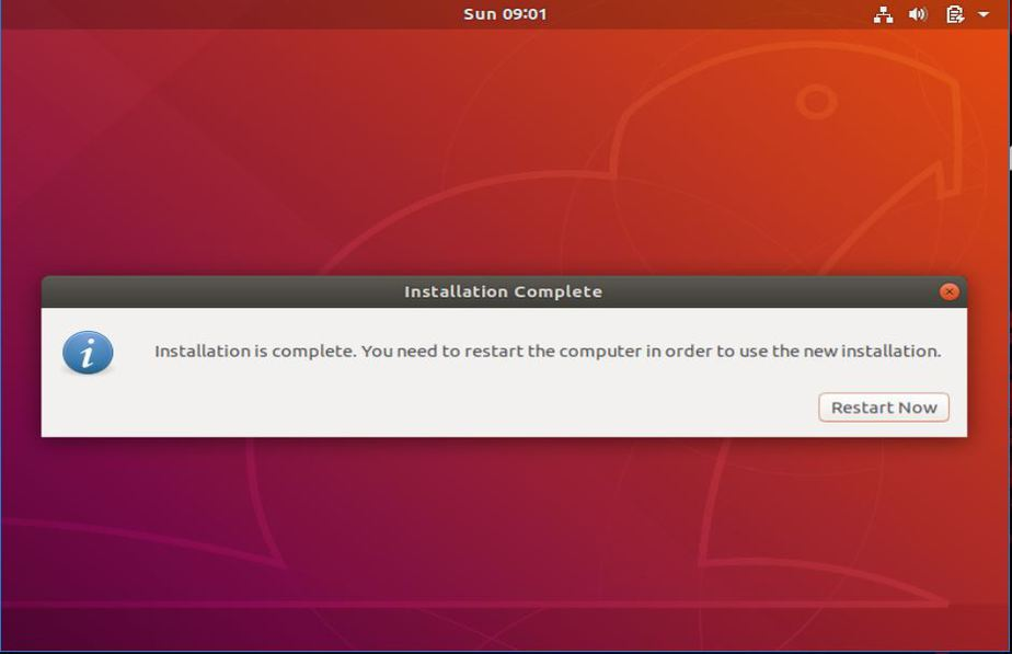 Ubuntu18-04-installation-completed