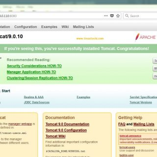 Apache-Tomcat-9-Home-Page