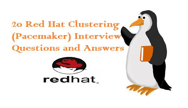 RedHat-Clustering-Interview-Questions
