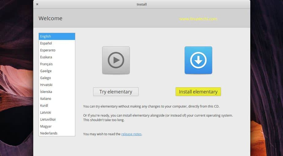 Elementary OS 5 0 (Juno) Installation Guide with Screenshots