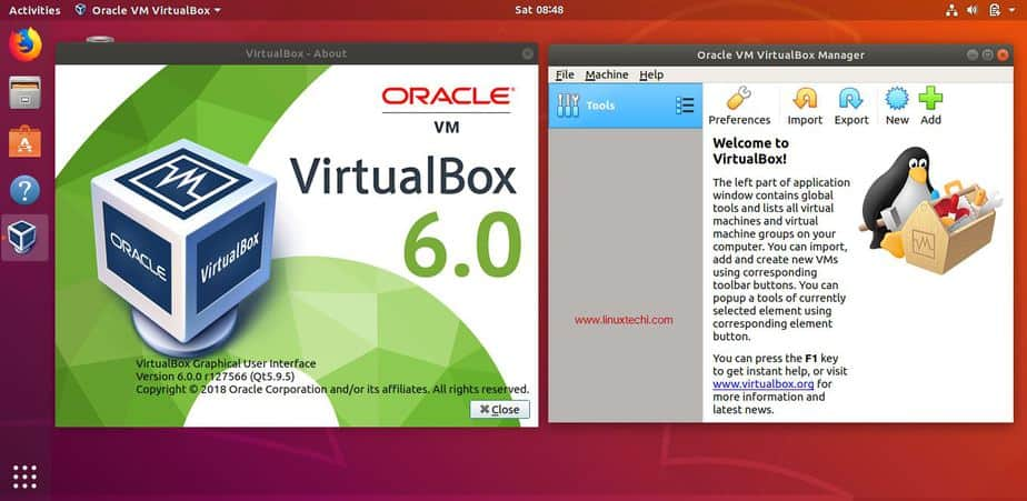 How to Install VirtualBox 6 0 on Ubuntu 18 04 LTS / 18 10 / CentOS 7