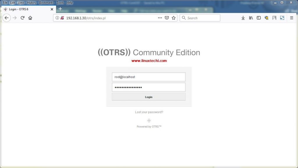OTRS-Login-Page-CentOS7