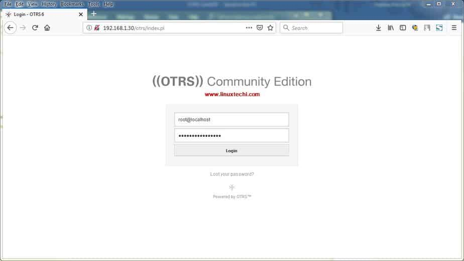 How to Install and Configure OTRS (Ticketing Tool) on CentOS