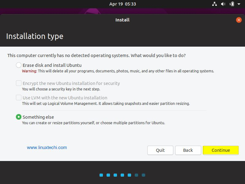 Choose-Installation-Type-Ubuntu19-04