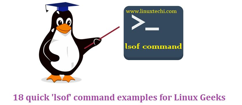 18 Quick 'lsof' command examples for Linux Geeks