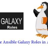 Download-Use-Ansible-Galaxy-Roles