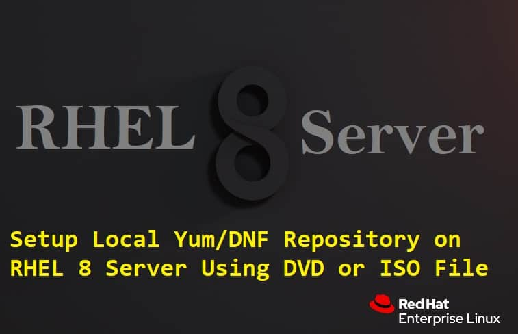 How to Setup Local Yum/DNF Repository on RHEL 8 Server Using