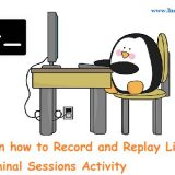 Record-linux-terminal-session-activity