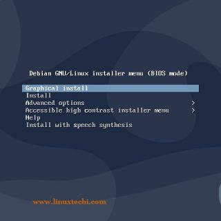 Choose-Graphical-Install-Debian-10