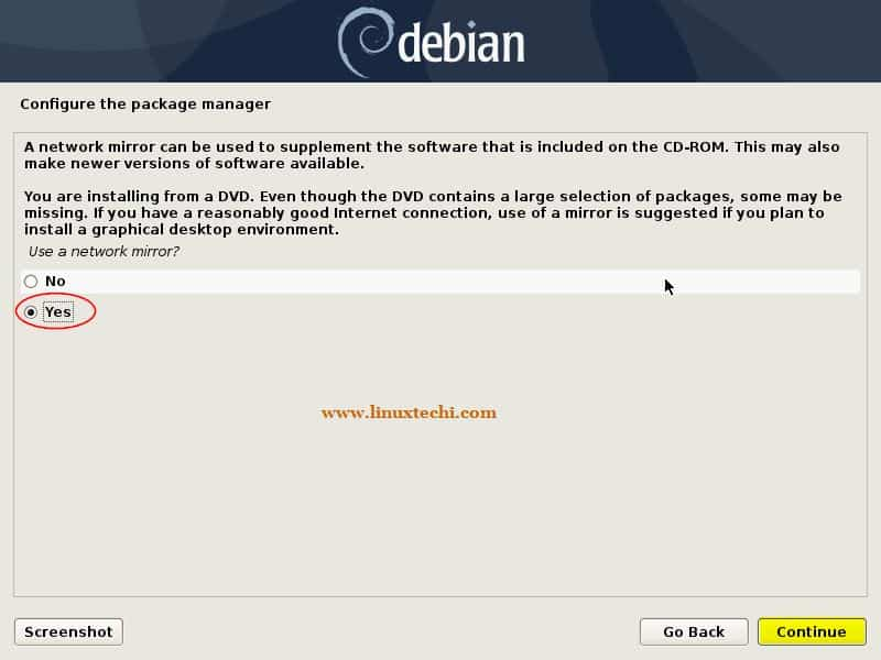 Network-Mirror-Debian10-Package-Manager