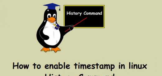 Linux-History-Command-Timestamp