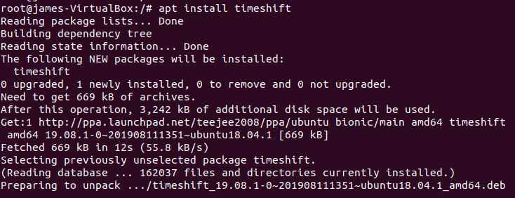 apt-install-timeshift