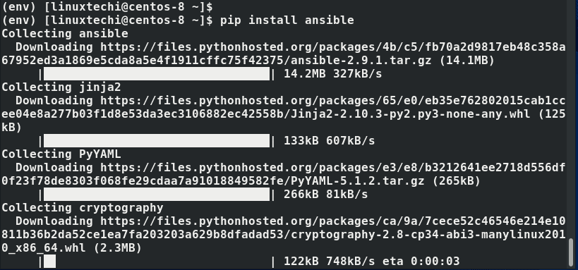 pip-install-Ansible