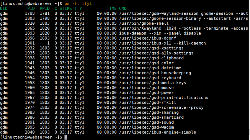 list-tty-process-ps-command-linux