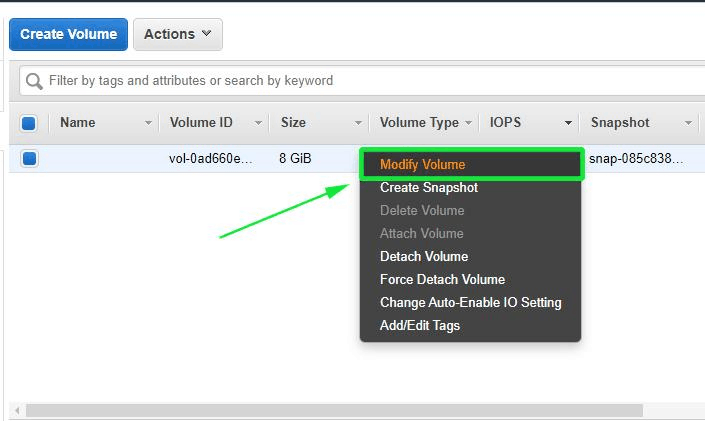 Modify-Volume-AWS-Instance