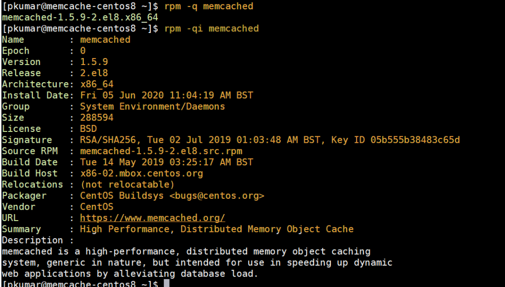 rpm-qi-memcached-centos8