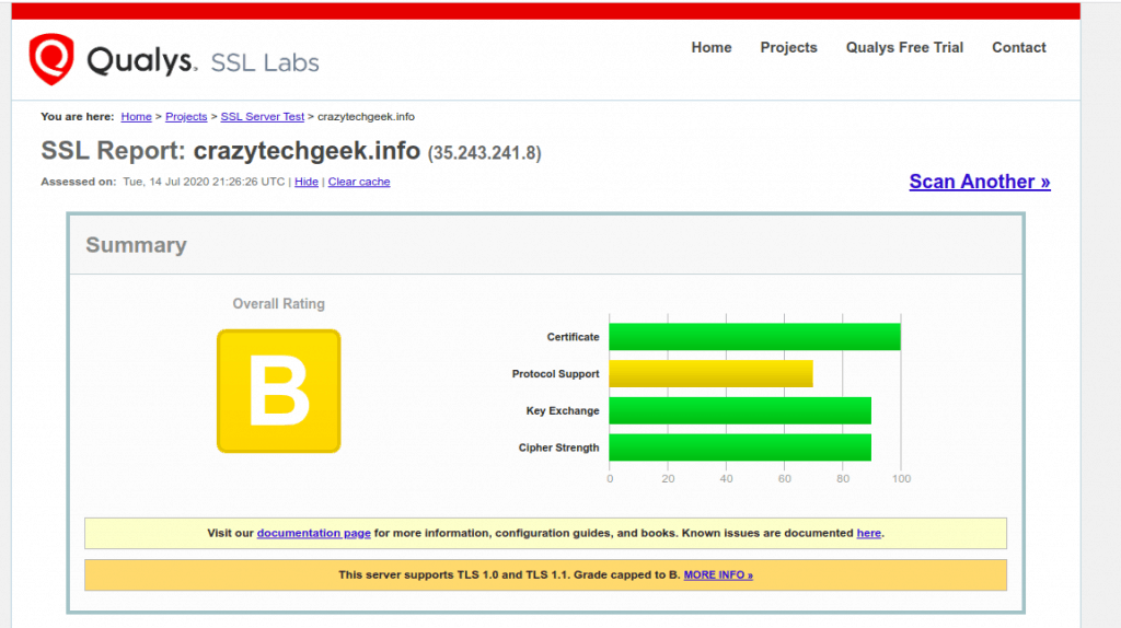 SSL-Report-Before-disable-weak-ssl-tls