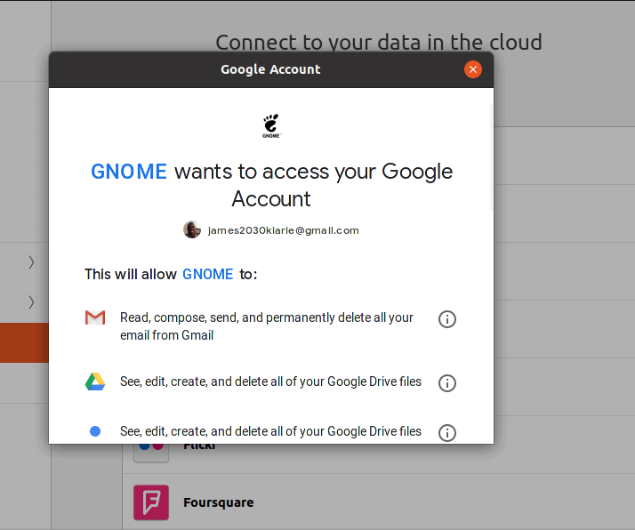 How to get to Google Drive on Ubuntu 20.04 (Focal Fossa)