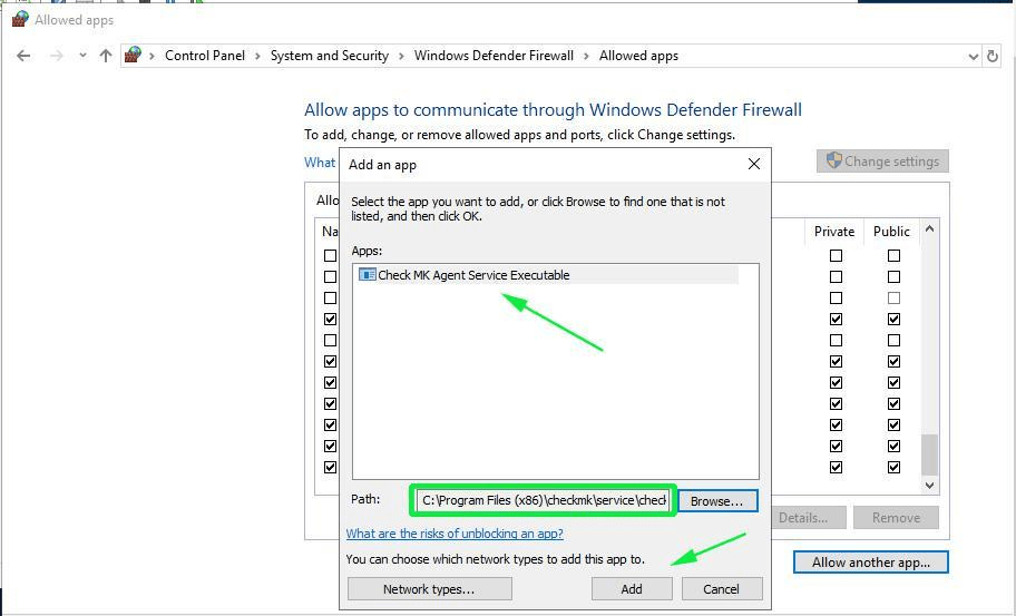 Allow-Checkmk-agent-windows-firewall