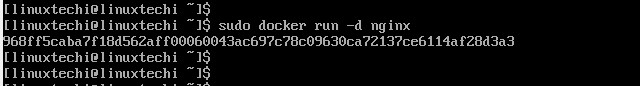 docker-run-deattach-archlinux