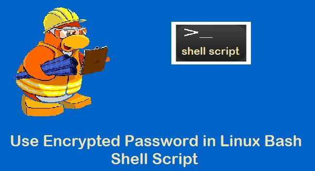 Use-Encrypted-Password-Shell-Script