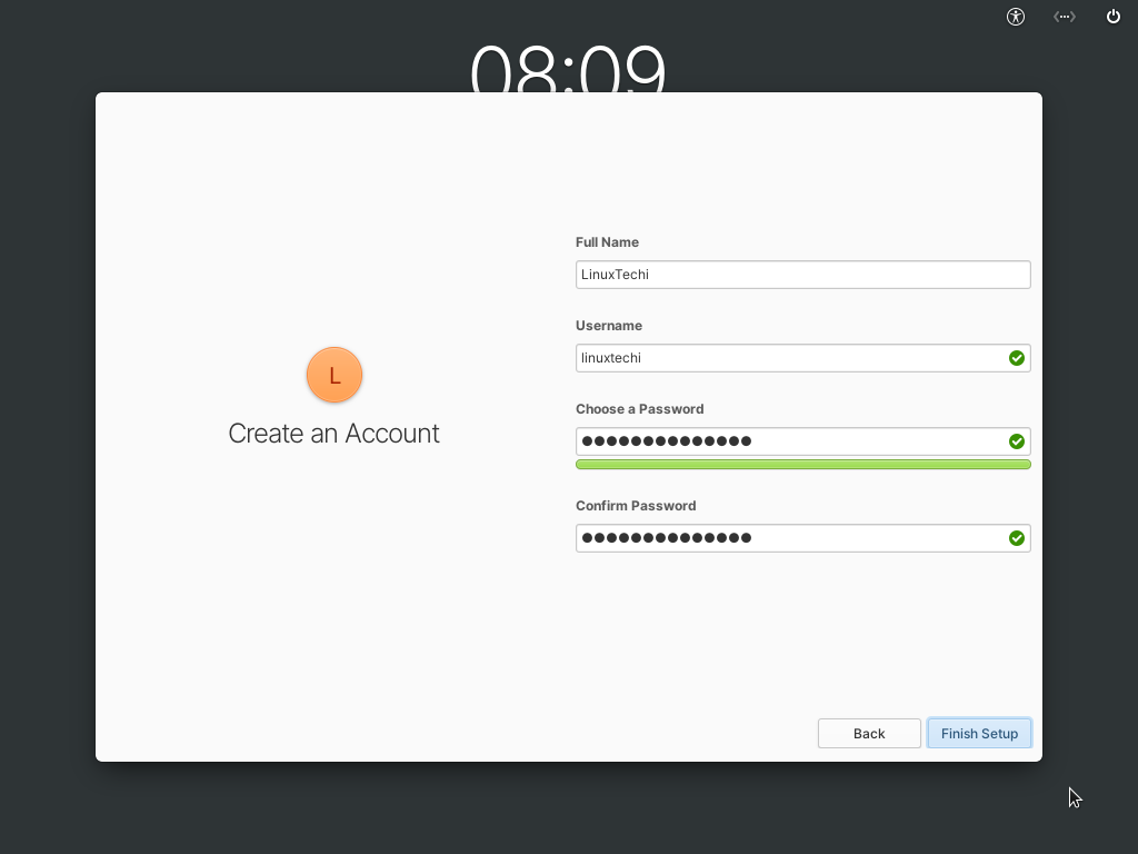 Create-Local-Account-After-ElementaryOS6-Installation