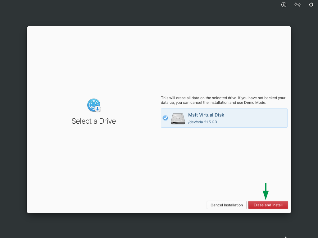 Select-Drive-for-ElementaryOS6-Installation