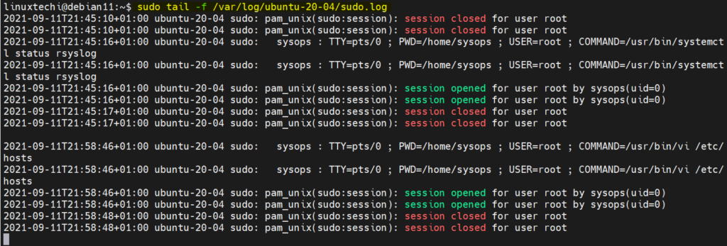 Real-Time-Remote-Client-sudo-logs-with-rsyslog